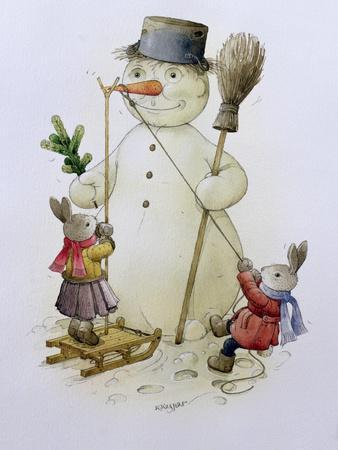 Snowman and Hares, 1999