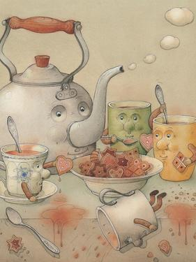 Tea Club, 2003 by Kestutis Kasparavicius