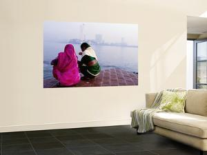 Two Women by Sea, at Dawn by Kevin Clogstoun