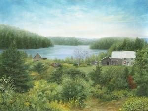 The Fishing Lodge in Québec by Kevin Dodds
