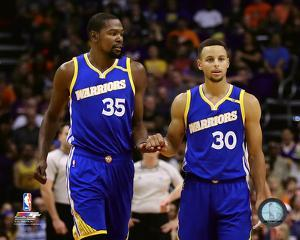 Kevin Durant & Stephen Curry 2016-17 Action