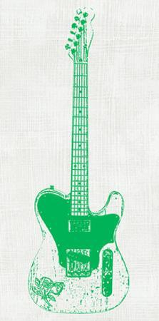 Guitar Collectior II by Kevin Inge