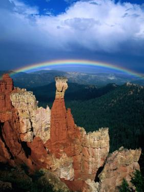 Rainbow Over Bryce Canyon, Bryce Canyon National Park, USA by Kevin Levesque