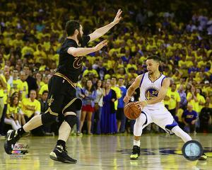 Kevin Love & Stephen Curry Game 7 of the 2016 NBA Finals