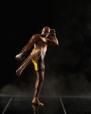UFC Fighter Portraits: Anderson Silva by Kevin Lynch