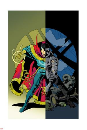 Doctor Strange #11 Cover Art by Kevin Nowlan