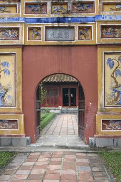 Asia, Vietnam. Arched Entrance Gate, the Citadel, Hue, Thua Thien–Hue by Kevin Oke