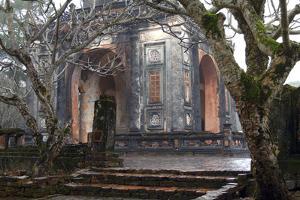 Asia, Vietnam. Stele Pavilion, Tu Ducs Tomb, Hue, Thua Thien–Hue by Kevin Oke