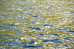 Caribbean, British Virgin Islands, Peter Island. Water Patterns by Kevin Oke