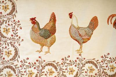 France, Aix-En-Provence. Textiles, Cours Mirabeau Market