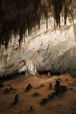 New Mexico, Eddy County, Carlsbad Caverns National Park. Cave Formations by Kevin Oke