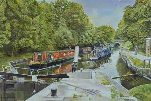 Knowle Top Lock, 2003 by Kevin Parrish