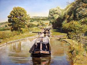 Napton Top Lock, 2008 by Kevin Parrish