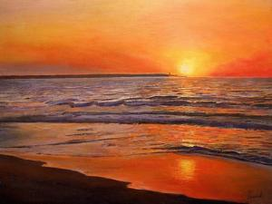 Sunset and Tranquility, 2008 by Kevin Parrish
