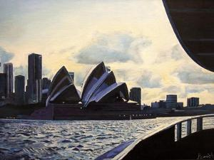 View from the Ferry, 2008 by Kevin Parrish