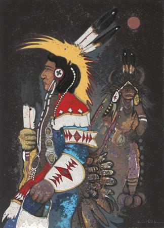 Crow Dancers at Midnight by Kevin Red Star