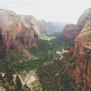 Angels Landing View by Kevin Russ
