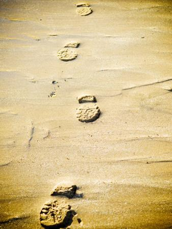 Footprints in the Sand by Kevin Walsh