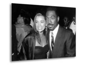 Actress Singer Vanessa L. Williams and Actor Comedian Eddie Murphy at Image Awards by Kevin Winter