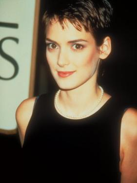 Actress Winona Ryder by Kevin Winter