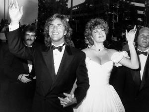 Married Actors Don Johnson and Melanie Griffith at Academy Awards by Kevin Winter