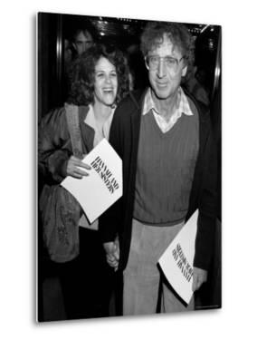 """Married Actors Gilda Radner and Gene Wilder at Film Premiere of """"Hannah and Her Sisters."""" by Kevin Winter"""