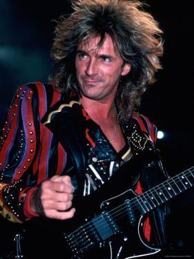 Member of Rock Group Judas Priest Performing by Kevin Winter