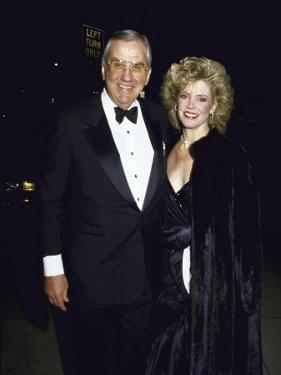 TV Personality Ed Mcmahon and Wife, Victoria Valentine by Kevin Winter
