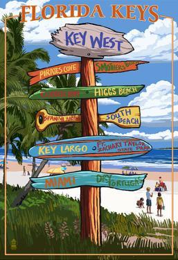Key West, Florida - Destination Signs