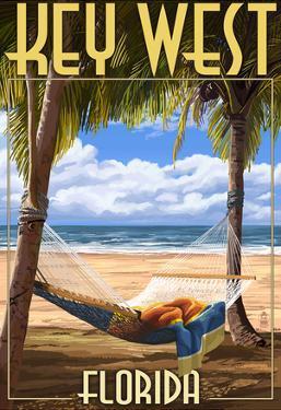 Key West, Florida - Hammock Scene
