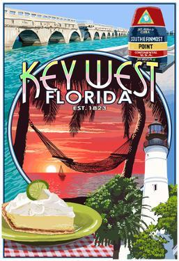 Key West, Florida - Montage