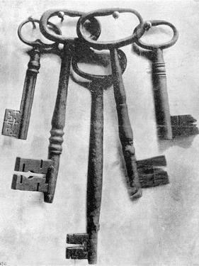 Keys of the Bastille