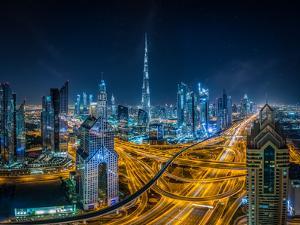 Blue city by Khalid Jamal