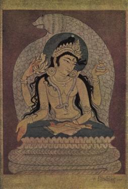 Manasa Devi, The Goddess of Snakes by Khitindra Nath Mazumdar