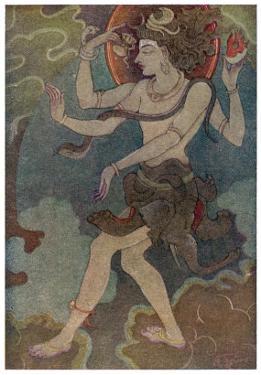 Shiva as Nataraja by Khitindra Nath Mazumdar
