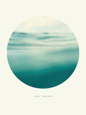 Inspirational Circle Design - Rolling Water: Deep Breath by khorzhevska