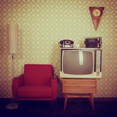 Vintage Room With Wallpaper by khorzhevska