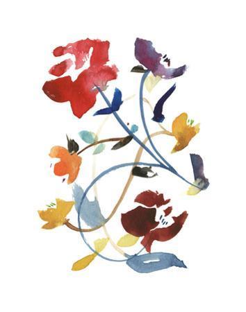 Nouveau Boheme - Folk Art Series No. 2 by Kiana Mosley