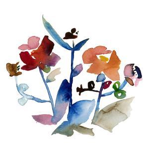 Nouveau Boheme No. 1 - Japanese Garden Series by Kiana Mosley