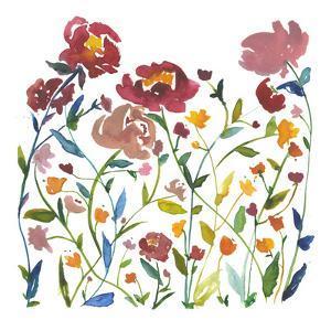Nouveau Boheme - Wildflower Garden by Kiana Mosley