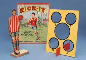 Kick-It' Table Football Game, Early 20th Century