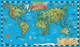 Affordable Children S Maps Posters For Sale At Allposters Com
