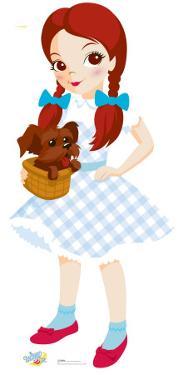 Kids Wizard of Oz - Dorothy Lifesize Cardboard Cutout