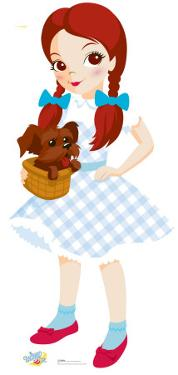 Kids Wizard of Oz - Dorothy Lifesize Standup