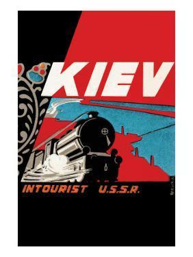 Kiev - Intourist U.S.S.R.