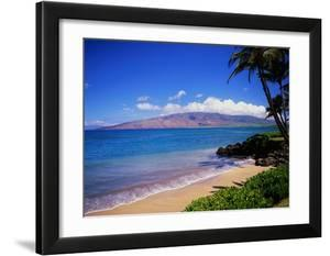 Kihei Beach and West Maui Mountains