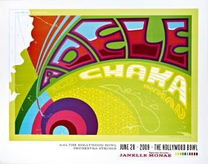 Adele & Chaka Khan 2009 by Kii Arens