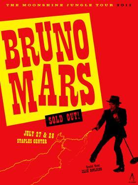 Bruno Mars by Kii Arens