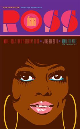 Diana Ross - More Today Than Yesterday Tour by Kii Arens