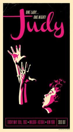 Judy Garland by Kii Arens